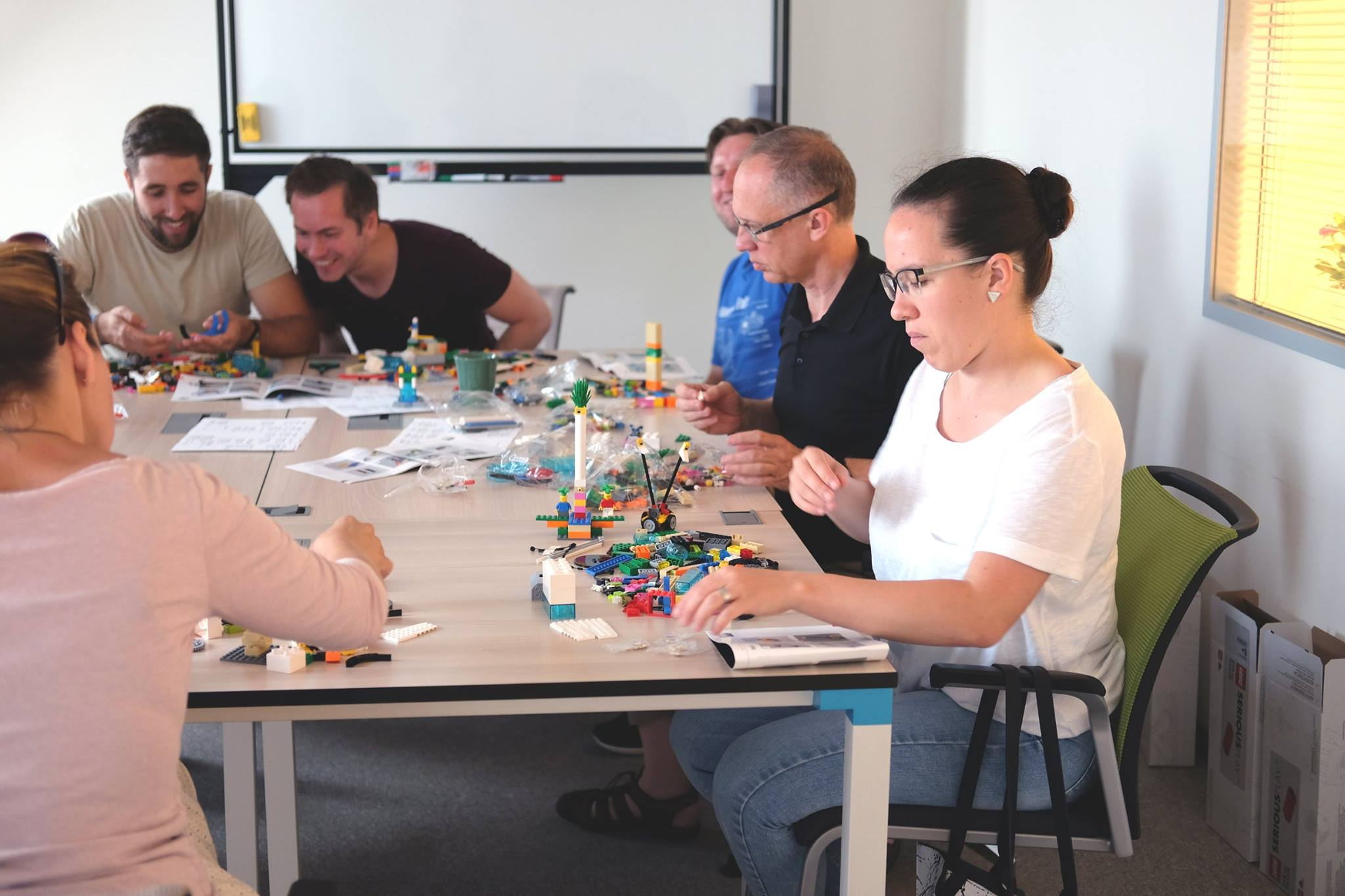 Lego serious play workshop az Ergomániánál
