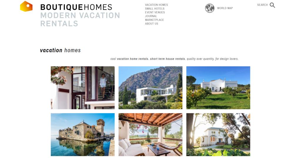 A Boutique Homes az ínyenceknek kínál egyedi nyaralási helyszíneket
